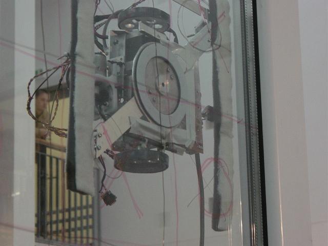 Windows cleaning contest : Robot KAGAWA
