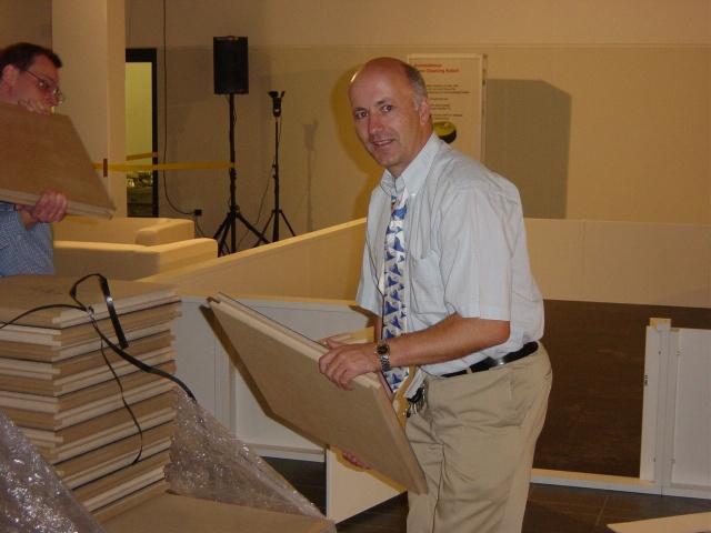 IROS General Chair Roland Siegwart at work...