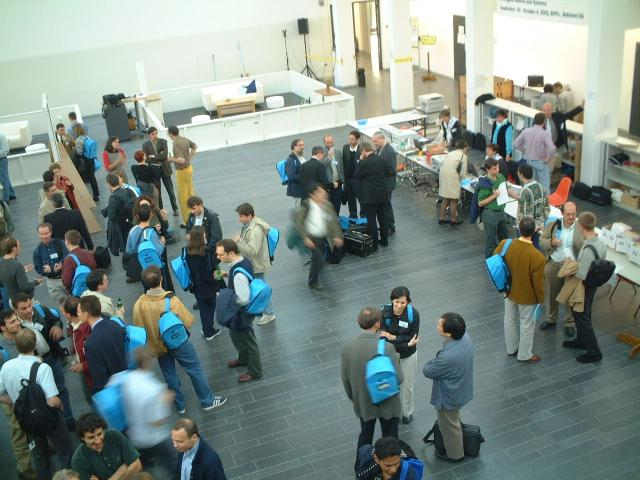 Welcome reception 2